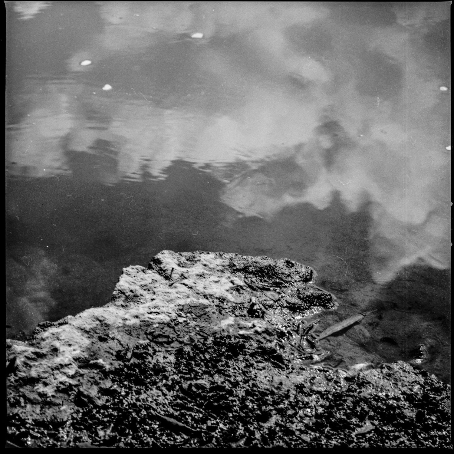 Photograph of Water on Ilford Pan 50